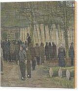 Lumber Sale Nuenen  January 1884 Vincent Van Gogh  1853  1890 Wood Print