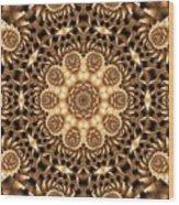 Kaleidoscope 86 Wood Print