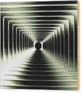 Luminous Energy 15 Wood Print by Will Borden
