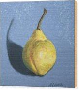 Lumpy Pear Wood Print