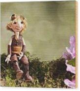 Lumuel In Spring Wood Print