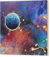 Luna Violet Wood Print