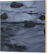 Lunar Flow Wood Print