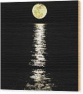 Lunar Lane Wood Print
