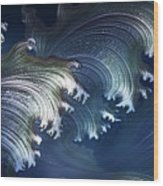 Lunasea Wood Print