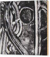 Lune Noire Wood Print