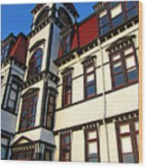 Lunenburg Academy 1 Wood Print