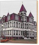 Lunenburg Academy 2 Wood Print