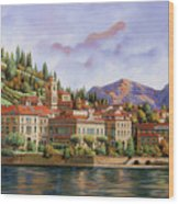 lungolago di Bellagio Wood Print