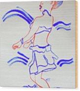 Luo Dance Acholi Tribe Uganda Wood Print