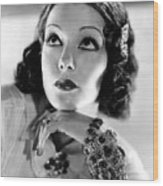 Lupe Velez, Mgm, 1933, Photo Wood Print by Everett