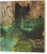 Luray Caverns - Wishing Well - Virginia Wood Print