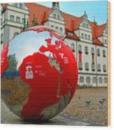 Lutherstadt World Wood Print