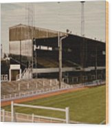Luton Town - Kenilworth Road - Main Stand East Side 1 - 1970s Wood Print