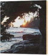 Lutsen Shore Four Wood Print