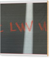 Luv Wood Print