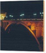 Luxembourg Bridge Wood Print