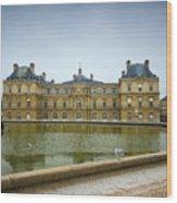 Luxembourg Palace Wood Print