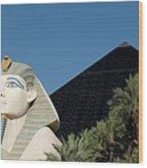 Luxor Hotel Las Vegas Wood Print