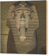 Luxor Interior 2 Wood Print