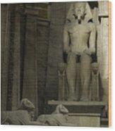 Luxor Interior 4 Wood Print