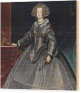 Luycks, Frans Amberes, 1604 - Viena, 1668 Maria Of Austria, Queen Of Hungary Ca. 1635 Wood Print