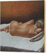 Luz De Ambar Wood Print