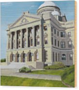 Luzerne County Courthouse Wood Print