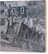 Lykens Valley Miners Wood Print