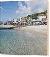 Lyme Regis Beaches - June 2015 Wood Print