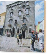 Lynches Castle Galway City Wood Print