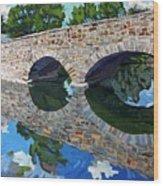 Lyndhurst Bridge Wood Print
