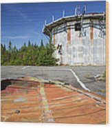 Lyndonville Air Force Station - Vermont Wood Print