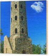 Lynn Woods Tower Wood Print