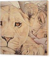 Lyonesse Wood Print