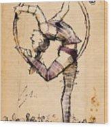 Lyra Wood Print