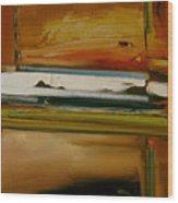 Lyrical Abstract Wood Print
