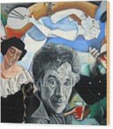 M Chagall Wood Print