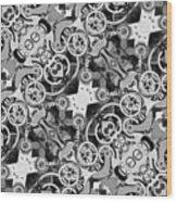 M M  -  Mechanismadness Wood Print