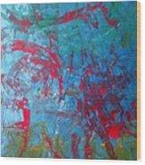M16 Eagle Nebula  Wood Print