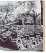 M4 Sherman Wood Print