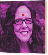 Ma Jaya Sati Bhagavati 12 Wood Print by Eikoni Images