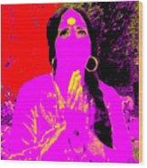 Ma Jaya Sati Bhagavati 16 Wood Print by Eikoni Images