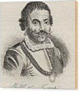Maarten Harpertszoon Tromp 1598 - 1653 Wood Print