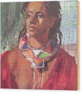 Maasai Pride Wood Print