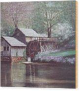Mabry Mills Wood Print