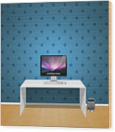 Mac  1920x1200 004 Wood Print