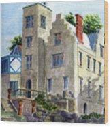 Mac-o-chee Castle Wood Print