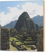 Macchu Picchu 10 Wood Print