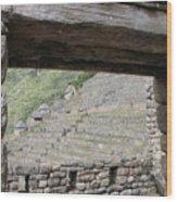 Macchu Picchu 5 Wood Print
